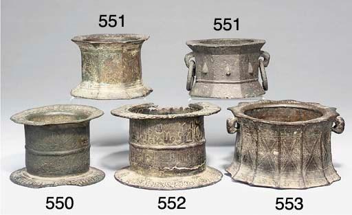 An Archaic bronze mortar