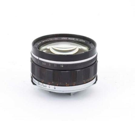 Canon 50mm. f/0.95 lens no. 14
