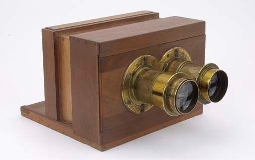 Stereo sliding-box camera