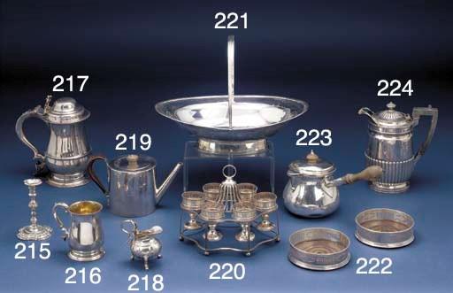 A George II Silver Cream Jug