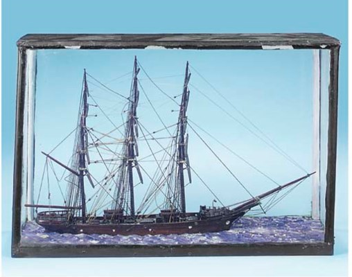 A 19TH CENTURY SAILOR'S WATERL