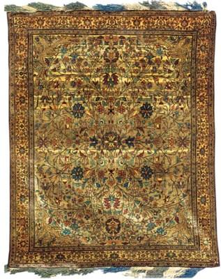 An antique Bijar rug, North-We