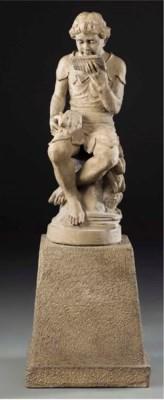 A terracotta figure of Peter P