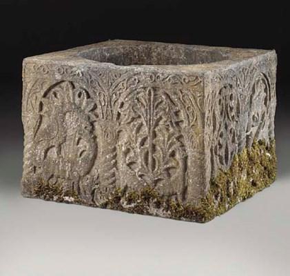 An Istrian stone wellhead