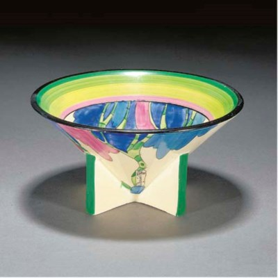 A RUDYARD CONICAL BOWL