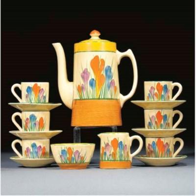 A CROCUS TANKARD COFFEE-SERVIC