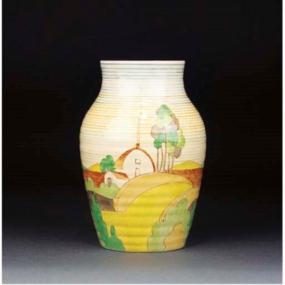 A Brookfields Isis Vase