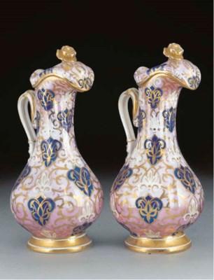 A pair of Carl Thieme porcelai