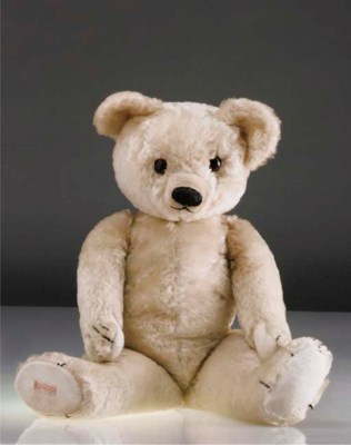 A Chad Valley teddy bear