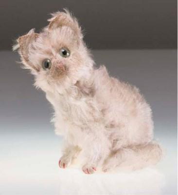 A Steiff Fluffy Cat