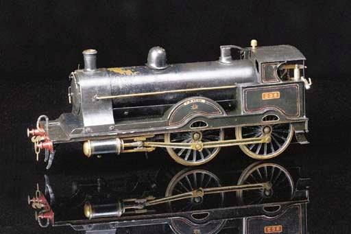 A Bing Gauge III spirit-fired