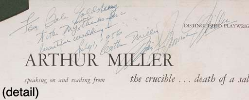 Marilyn Monroe And Arthur Mill