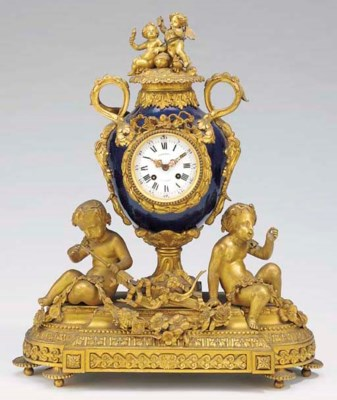 A Napoleon III gilt-bronze and