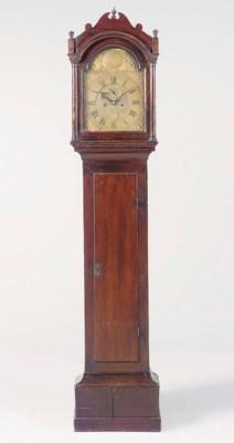 A George II oak longcase clock