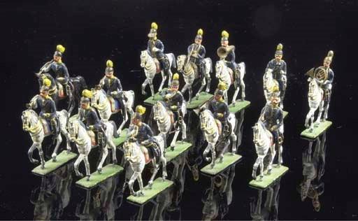 A Heyde Prussian Dragoon Band
