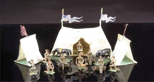 Heyde US khaki infantry camp