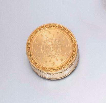 A LOUIS XVI GOLD BOX