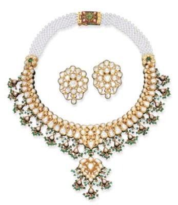 A MODERN INDIAN DIAMOND AND EN