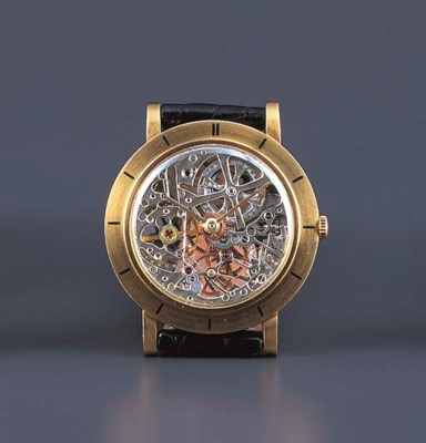 AUDEMARS PIGUET. AN 18K GOLD S