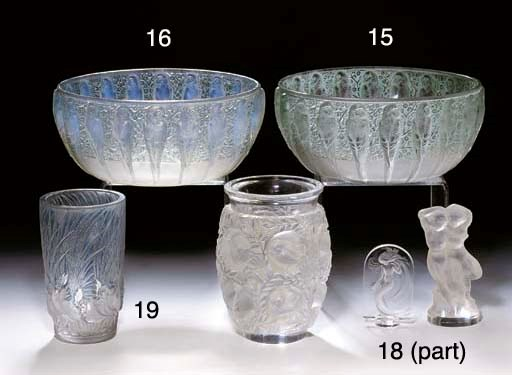 A COLLECTION OF LALIQUE GLASS