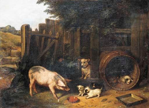 WALTER HUNT (British, 1861-194
