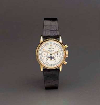 Patek Philippe. A fine and ext