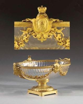 A Louis XVI style ormolu and c