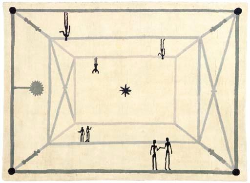 'LA RENCONTRE', A WOOL CARPET