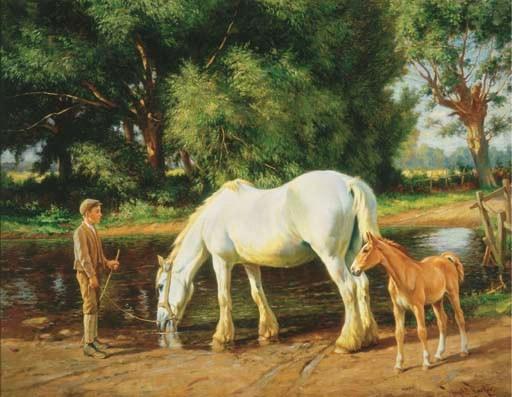 Wright Barker (British, 1864-1