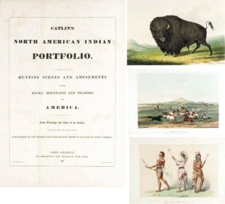 CATLIN, George (1796-1872). Ca