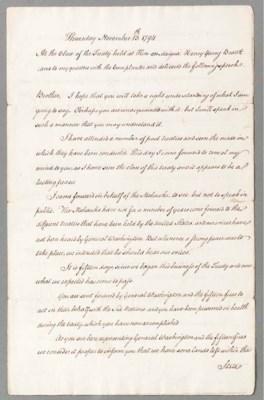 PICKERING, Timothy (1745-1829)