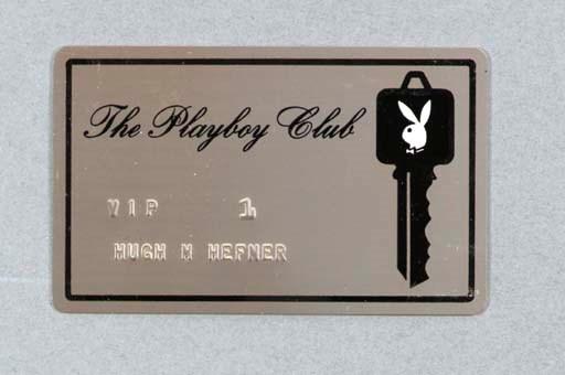HEFNER, Hugh. Playboy Club Key