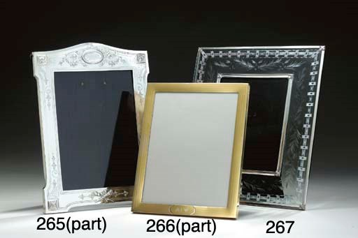 THREE SILVER PICTURE FRAMES