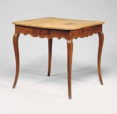 TABLE DE QUADRILLE D'EPOQUE LO