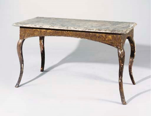 TABLE A GIBIER D'EPOQUE REGENC