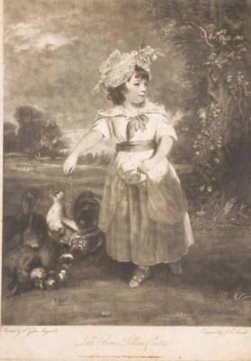 D'APRES JOSHUA REYNOLDS (1723-