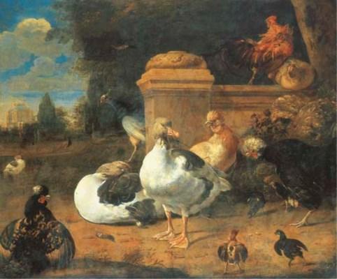 MELCHIOR D'HONDECOETER (UTRECH