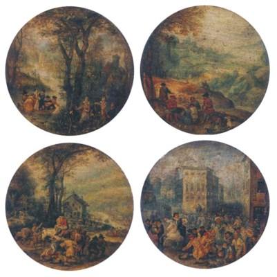 (4) After Jan Brueghel I