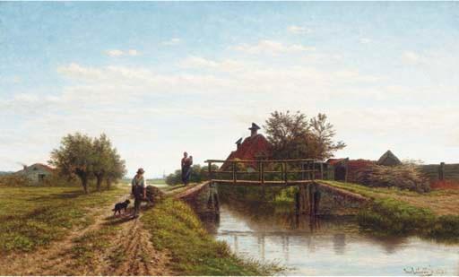 Jan van Lokhorst (Dutch, 1837-