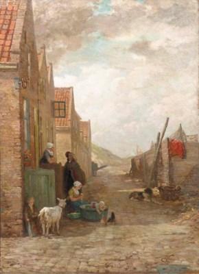 Henri van Seben (Belgian, 1825