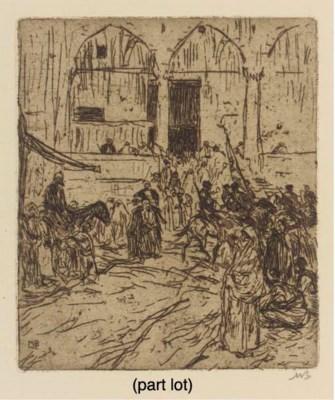 (16) Marius Bauer (Dutch, 1867