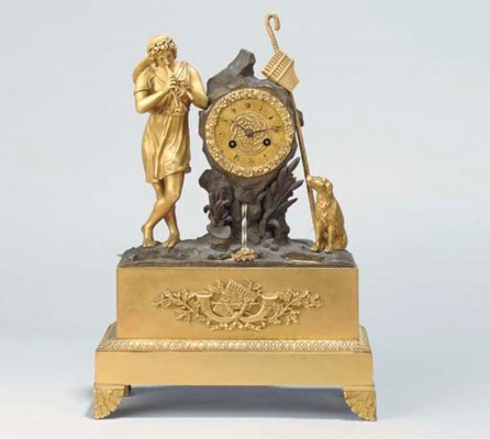 A Charles X ormolu and bronze