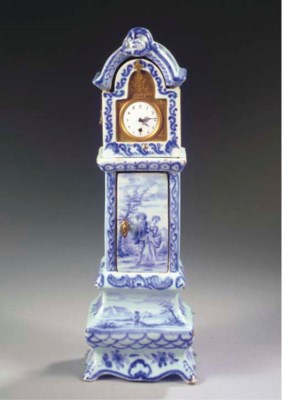 A Delftware blue and white gil