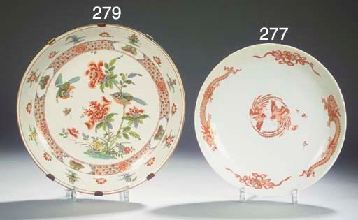 A rare Meissen porcelain 'fami