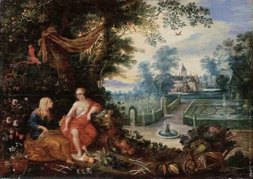 Follower of Jan Brueghel II an
