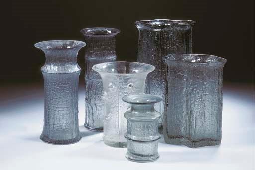 (6) Finlandia, a vase