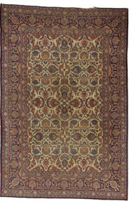 A Keshan carpet