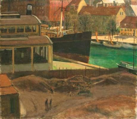 Otto Nielsen (Danish, 1877-aft