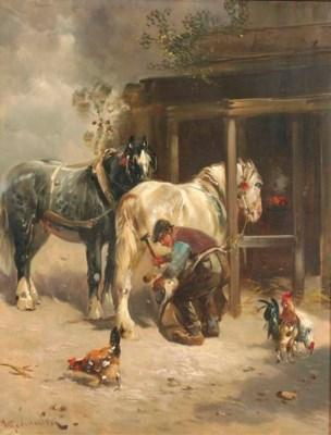 Henri Schouten (Belgian, 1864-