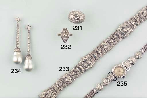 A BELLE EPOQUE DIAMOND RING